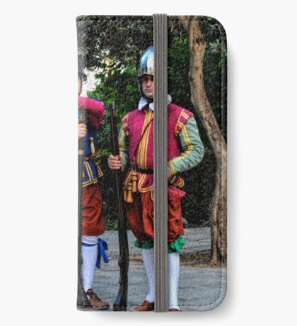 The Three Knights iPhone Wallet/Case/Skin