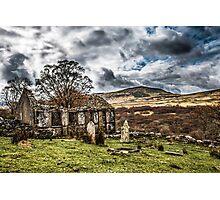 Trefriw abandoned Chapel  Photographic Print