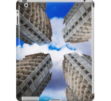 construction of residential buildings iPad Case/Skin