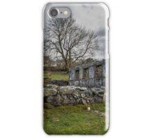 Abandoned Chapel near Trefriw  iPhone Case/Skin