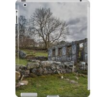 Abandoned Chapel near Trefriw  iPad Case/Skin
