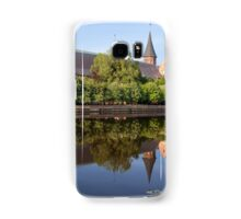 river landscape with cathedral Samsung Galaxy Case/Skin