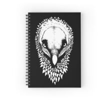 Black&White Bearded Vulture Spiral Notebook