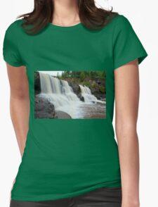Upper Gooseberry Falls Womens Fitted T-Shirt
