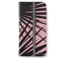 Palms on Blush Background iPhone Wallet/Case/Skin