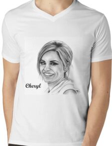Cheryl Mens V-Neck T-Shirt