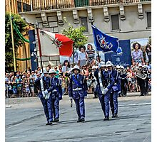 Malta Police Force Parade Photographic Print