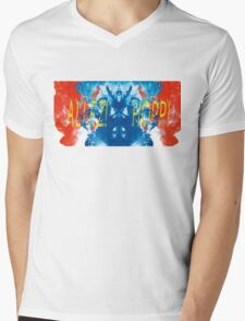 ALLEZ! HOPP! - Diptych Mens V-Neck T-Shirt