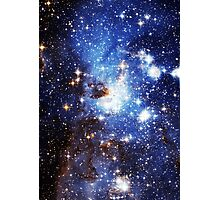 Blue Galaxy 3.0 Photographic Print