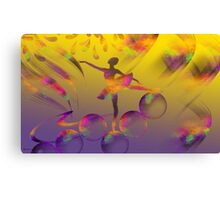 What A Feeling-  Art + 23 Products Design  Canvas Print