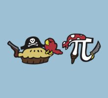 Pie and Pi Pirates by jezkemp