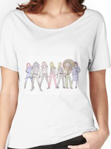 Strong Women Characters Women's Relaxed Fit T-Shirt