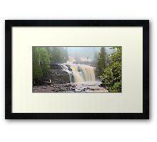 Gooseberry Falls Panorama Framed Print
