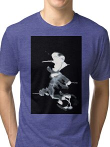 0094 - Brush and Ink - Piercer Tri-blend T-Shirt