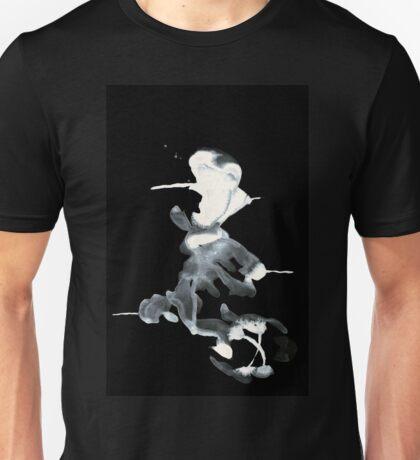 0094 - Brush and Ink - Piercer Unisex T-Shirt