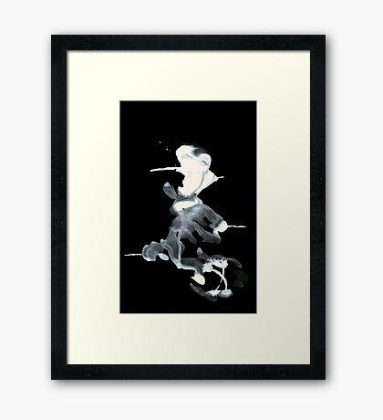 0094 - Brush and Ink - Piercer Framed Print