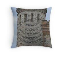 Stone Turret Throw Pillow