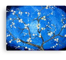 My salute to Van Gogh  Canvas Print