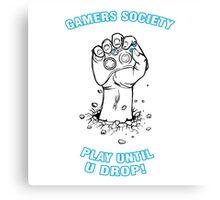Gamers Society Canvas Print