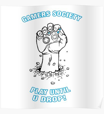 Gamers Society Poster
