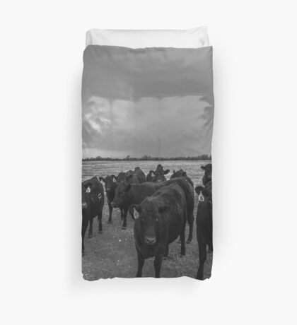 Hanging Out Duvet Cover