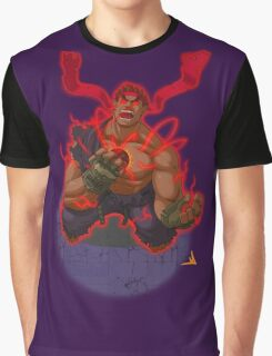 Evil Ryu Red Eyes Graphic T-Shirt