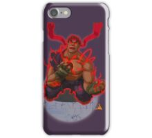 Evil Ryu Red Eyes iPhone Case/Skin