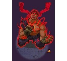 Evil Ryu Red Eyes Photographic Print