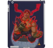 Evil Ryu Red Eyes iPad Case/Skin
