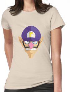 Waluigi Womens Fitted T-Shirt