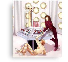 TARDIS Console Room Canvas Print