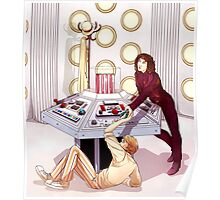 TARDIS Console Room Poster