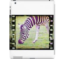 Film Shot sketch of zebra iPad Case/Skin