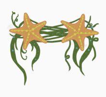 Mermaid StarFish Top Baby Tee