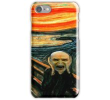 Voldemort' scream iPhone Case/Skin