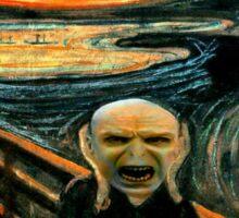 Voldemort' scream Sticker