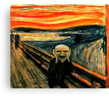 Voldemort' scream Canvas Print