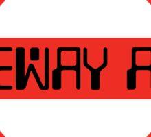 Tubeway Army [roundel] Sticker