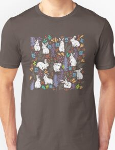 White rabbits Unisex T-Shirt
