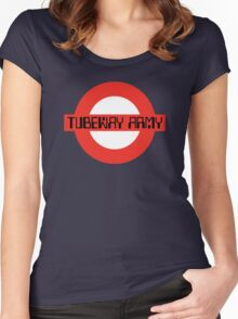 Tubeway Army [roundel] Women's Fitted Scoop T-Shirt