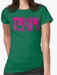 TRAIN (Strong Girl Deadlift Iconic) Womens Fitted T-Shirt