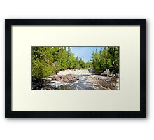 Two Step Panorama Framed Print