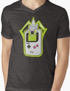 Retro Fusion Mens V-Neck T-Shirt