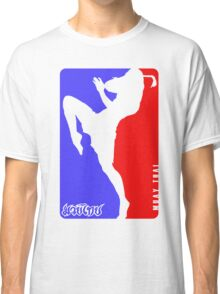 Muay Thay Boxing logo Thailand Martial Art  Classic T-Shirt