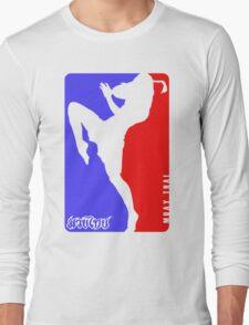 Muay Thay Boxing logo Thailand Martial Art  Long Sleeve T-Shirt