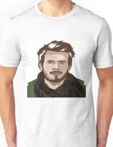 tutorial vector portrait  Unisex T-Shirt