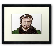 tutorial vector portrait  Framed Print