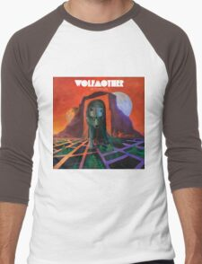 wolfmother wolf victorious Men's Baseball ¾ T-Shirt