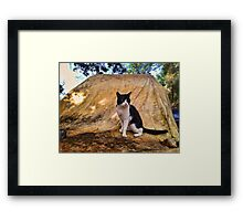 I am the Cat Framed Print