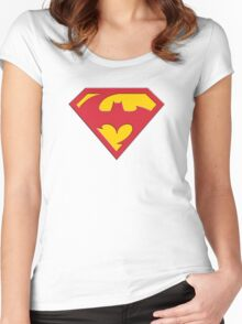 DCc Mash Up 3 Women's Fitted Scoop T-Shirt